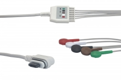 Fixed-Snap Holter Recorder ECG-Philips-GE Seer Light
