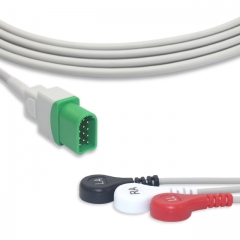 Fixed-Snap One piece ECG cables-Mindray-Datascope